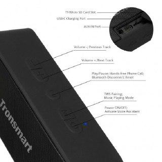 altavoz Bluetooth Tronsmart T2 Plus sonido
