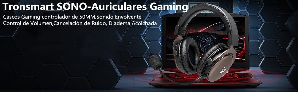 Auriculares-Sono-Tronsmart-para-gaming