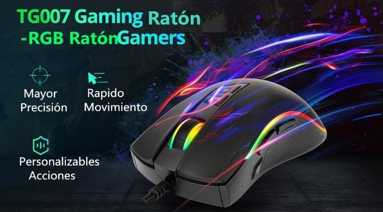 Raton-TG007-gaming-Tronsmart-funciones