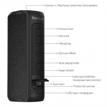 altavoz-Bluetooth-Tronsmart-T6-Plus-especificaciones