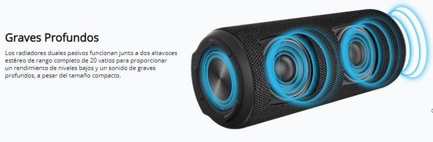 altavoz-Bluetooth-Tronsmart-T6-Plus-graves